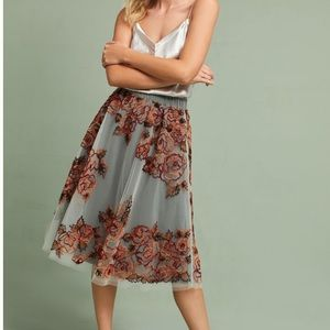 Anthropologie not so serious skirt